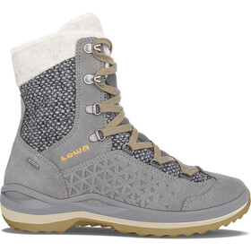 Lowa Calceta II GTX Stivali Donna, grey/honey